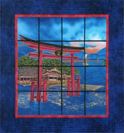Japanese Window (Torii Gate)