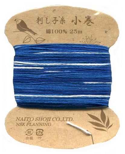 Variegated Sashiko Thread - Col. 205 (25 metre card)