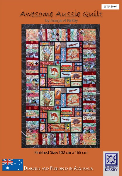 Awesome Aussie Quilt Pattern by Margaret Kirkby