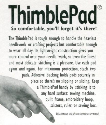 Information on ThimblePad
