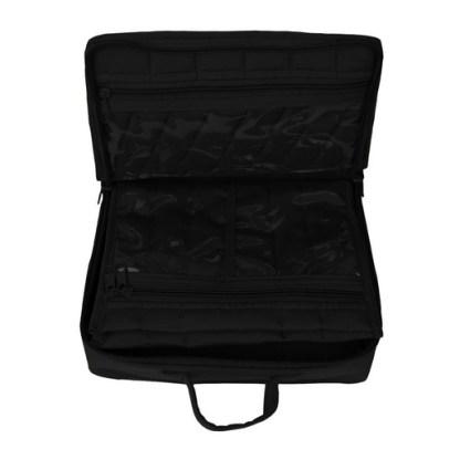Mini Organizer - Large (Black). Opened image 2
