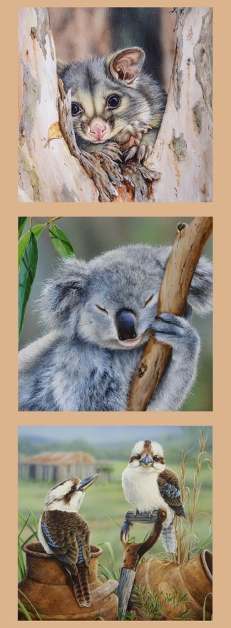 Wildlife Art Panel DV3175