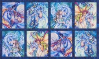 Morningmoon Unicorns Panel ABKD-18646-286