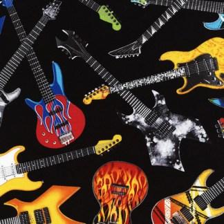 Tossed Electric Guitars C4824-Black