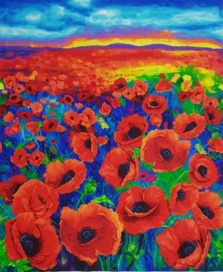 I Dream of Poppy Panel CD6763-MULTI