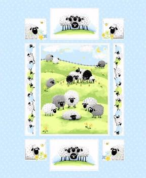 Lewe the Ewe Panel SB20042-710