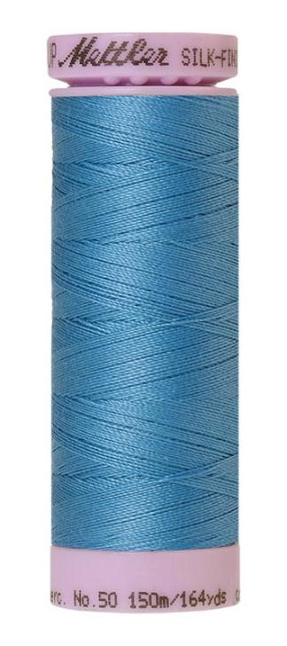 Mettler Silk-finish Cotton 50W 0338 Reef Blue 150m Spool