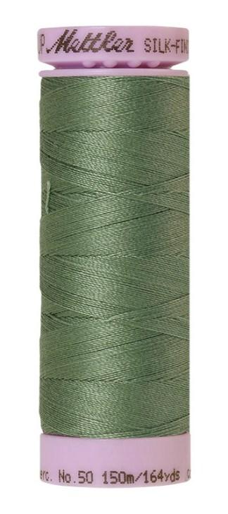 Mettler Silk-finish Cotton 50W 0646 Palm Leaf 150m Spool