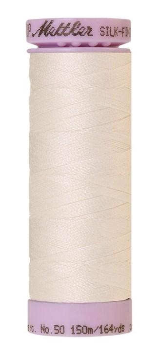 Mettler Silk-finish Cotton 50W 3000 Candlewick 150m Spool
