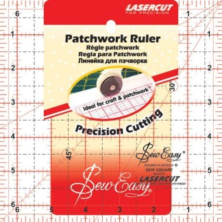 """Sew Easy Patchwork Ruler 6 ½"""" x 6 ½"""""""