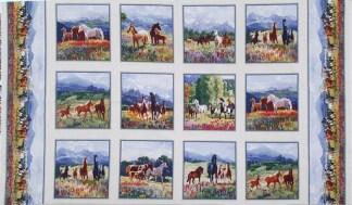 Mustang Meadows Panel 8701