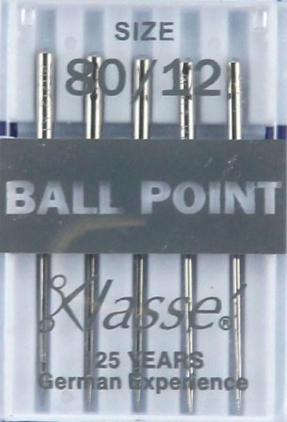 Klasse Ball Point Machine Needles 80 / 12