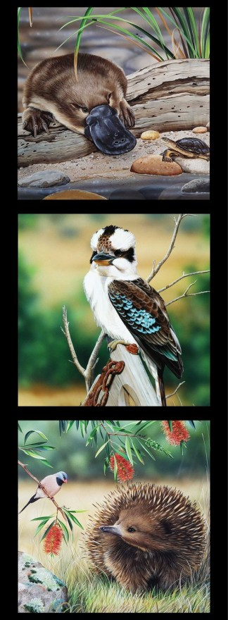 Wildlife Art 5 Panel DV3706