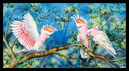 Wildlife Art 4 Panel DV3703