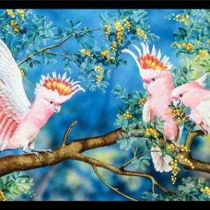 Wildlife Art 4 Panel DV3703