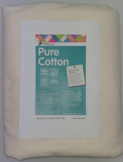 3 metres of Cotton Wadding - Cream