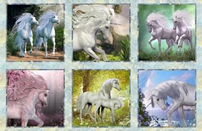 Unicorns Panel 2UN-1