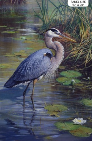 The Great Blue Heron Panel DP24028-49