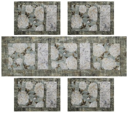 Ophelia Table Runner and Placemats Kit