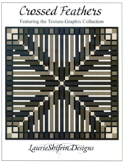 Crossed Feathers Pattern by Laurie Shifrin Designs