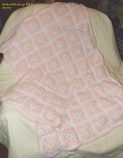 daisy and dolly blankets