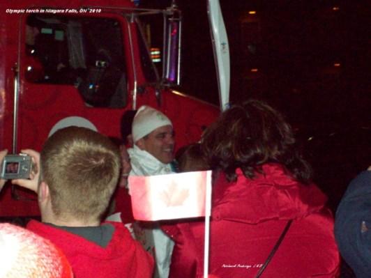 2010 Olympic Torch in Niagara Falls