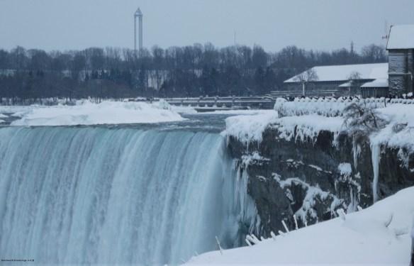 Table Rock at Niagara Falls