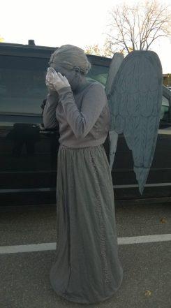 Halloween 2015 ~ Weeping Angel