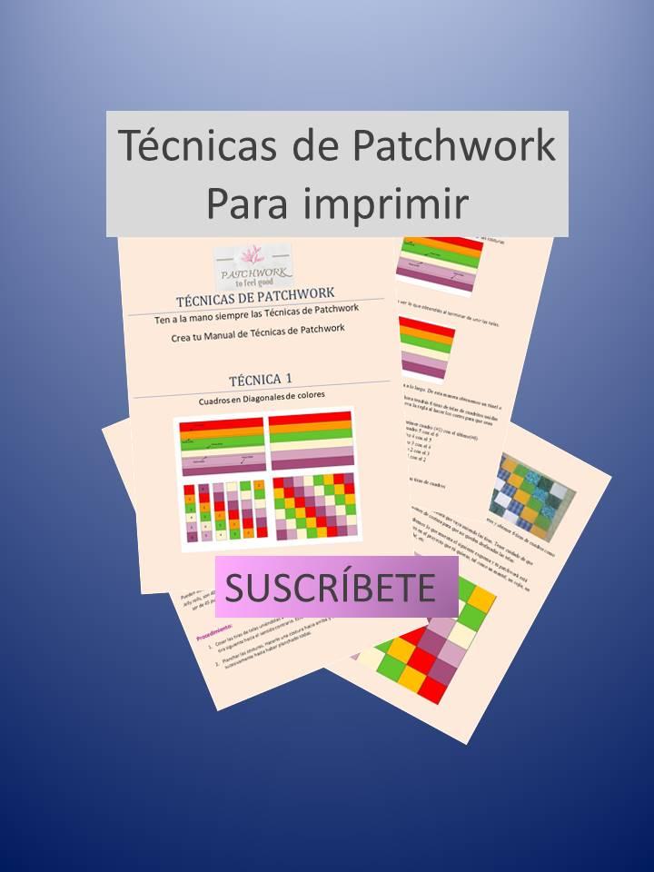 Gratis Técnica de Patchwork Printable