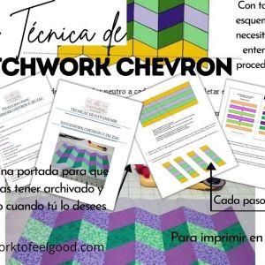 Muestra del contenido del Patchwork Chevron