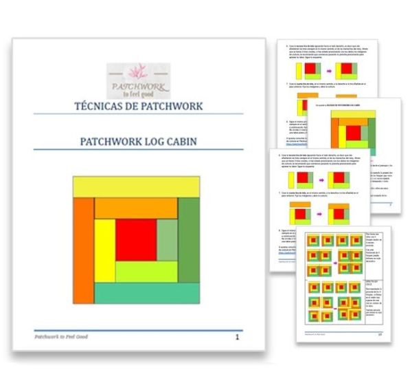 Producto Log Cabin Patchwork
