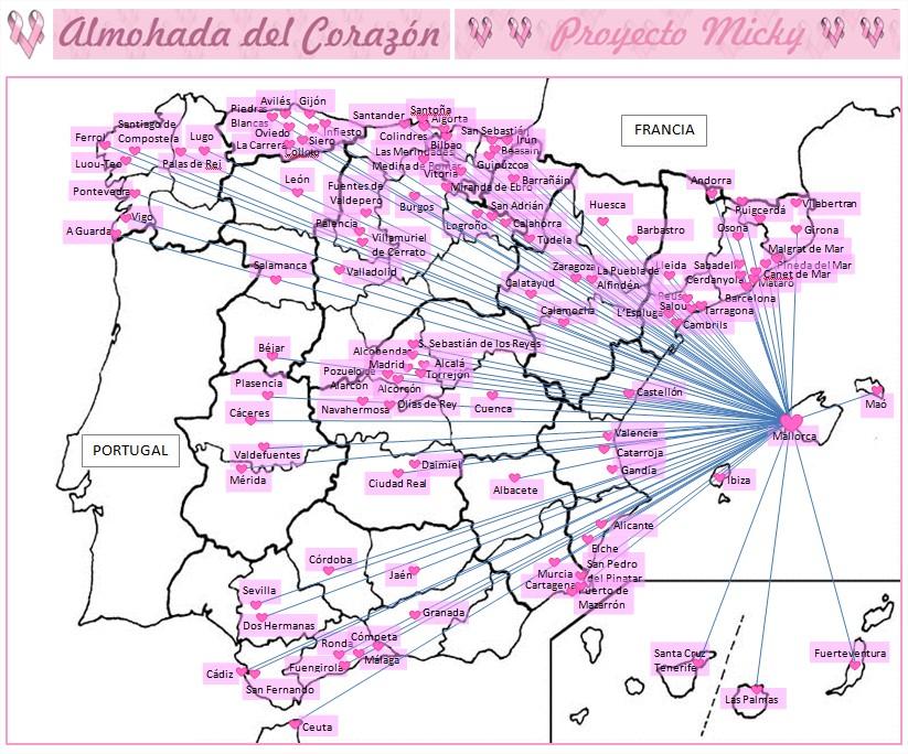 PROYECTO MICKY (Mapa de españa) 18.11.2015
