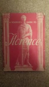 WW2 Soldiers City Guide Florence