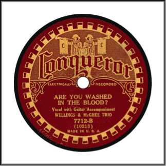 Record Label:  1929-1934. Note the absence of Sears. May be in red or orange.