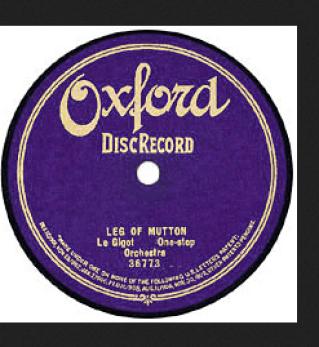 Leg of Mutton Oxford Record label 36773