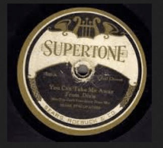Record Label: 1924. This label design lasted only one year.