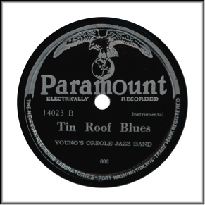 Paramount Record Label: Post WW2 production