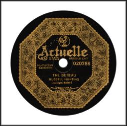 Actuelle Label, 1922