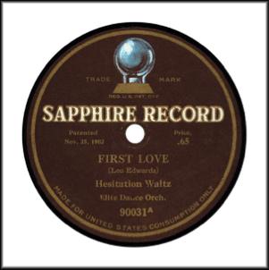Sapphire Record 1915
