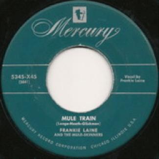 Mercury Record Label 1949-1950