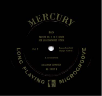 Mercury Record Label :Label from 1949-1960