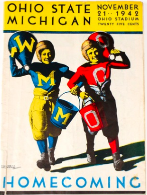 1942 Ohio State vs Michigan