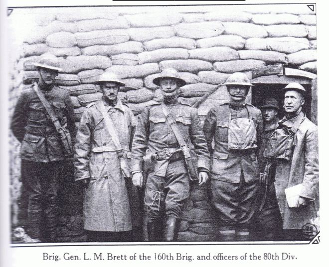 80th Division Officers
