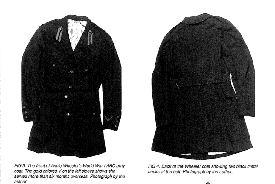 WW1 US Red Cross Nurse Uniform