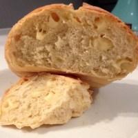 Boulangerie : Boule de pain à l'emmental