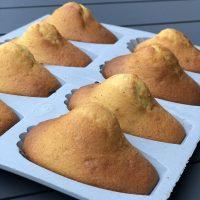 A l'heure du goûter : madeleines bien bossues