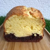 Spéciale confinement : cake au mascarpone et chocolat
