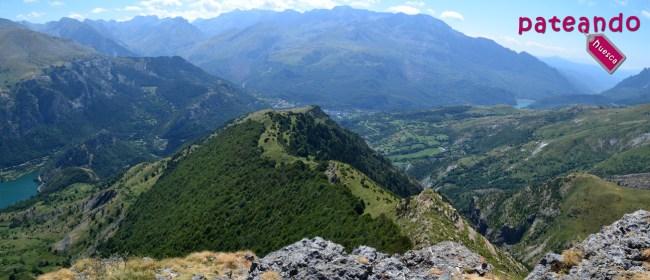 Vistas a la Sierra Tendenera y Pantano de Bubal