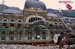 Estación de Canfranc en Huesca
