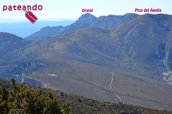 Gratal y Pico del Águila
